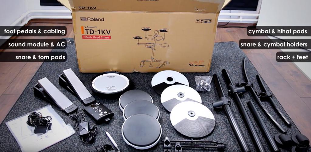 Roland TD-1KV Unboxing