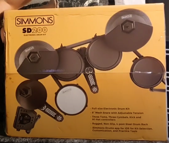 SD200 Unboxing